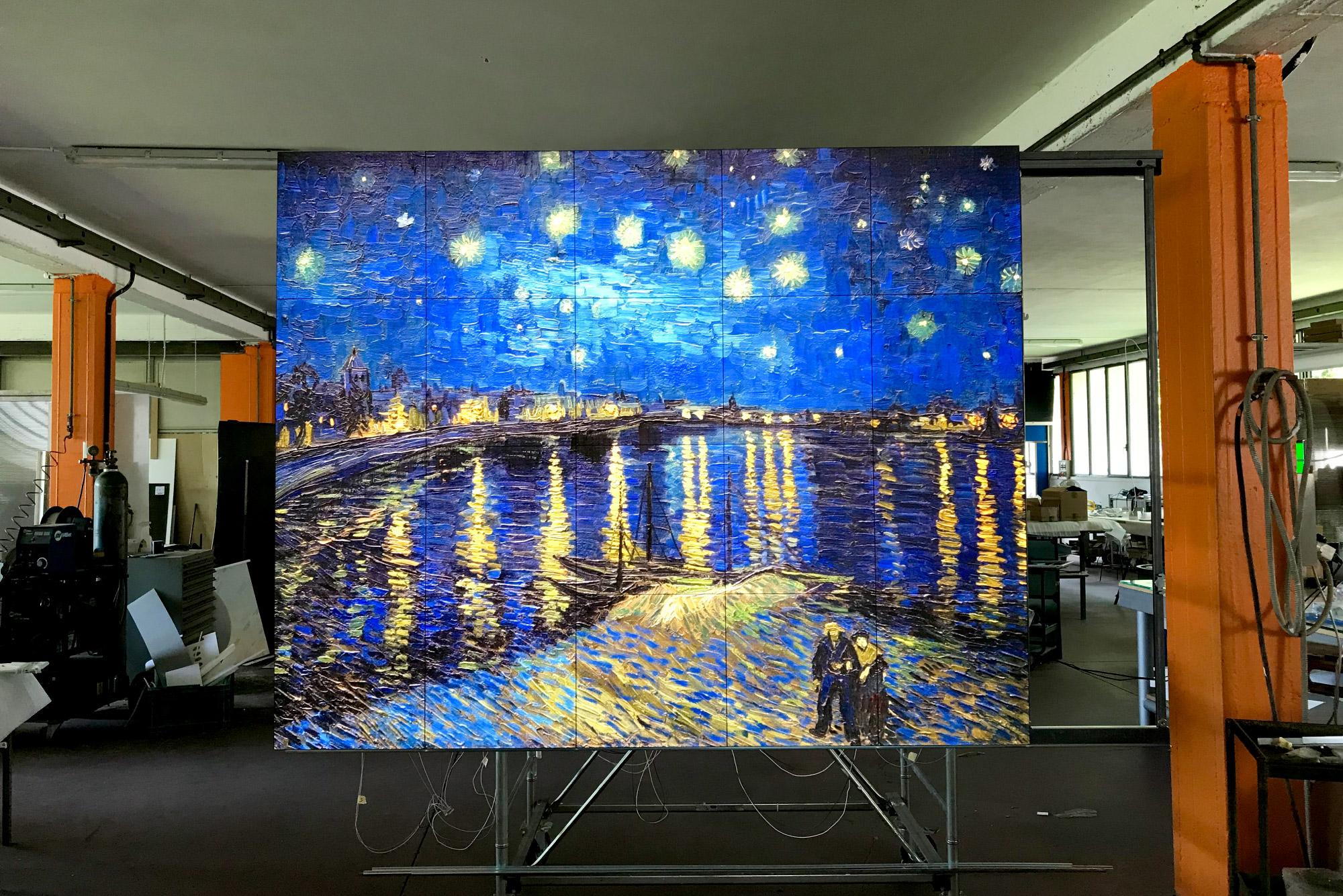 Art Box by Simplex Luce - opere d'arte retroilluminate con pannelli componibili